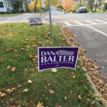 Dana Balter Yard Sign
