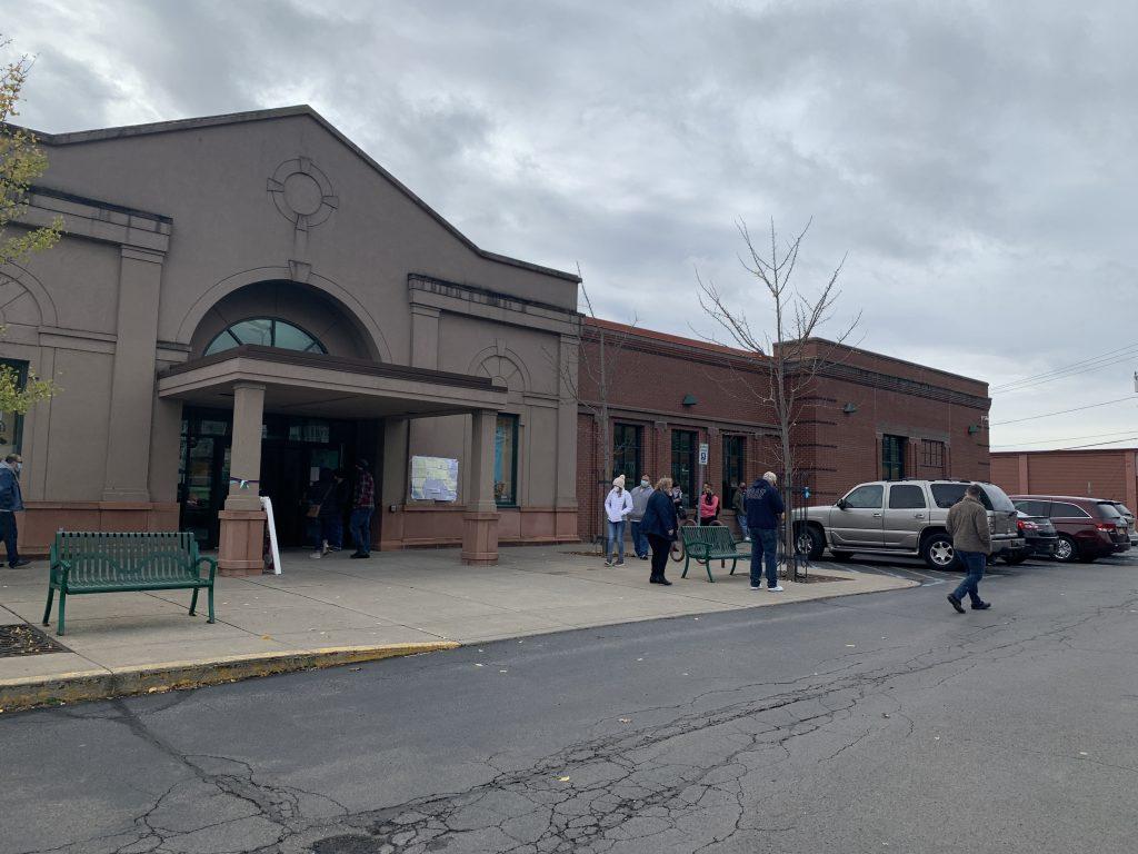 Baldwinsville Public Library Polling Site